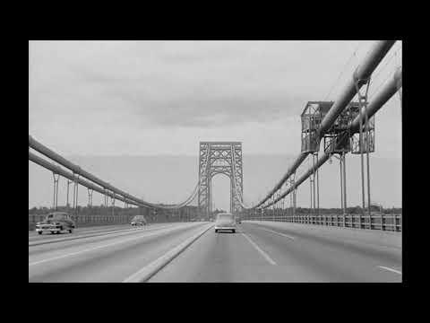 George Washington Bridge and Northern New Jersey Industrial City