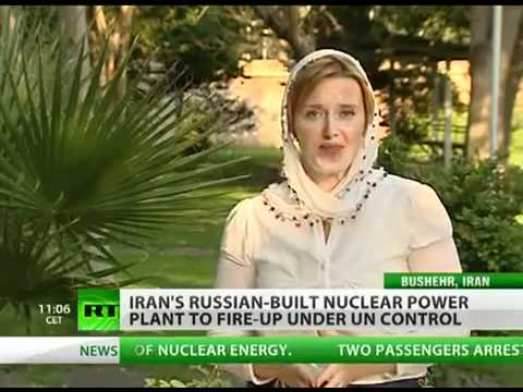 Russia has been helping Iran create peaceful nuclear energy for years