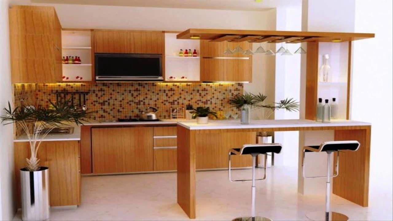Kitchen Design With Mini Bar - YouTube