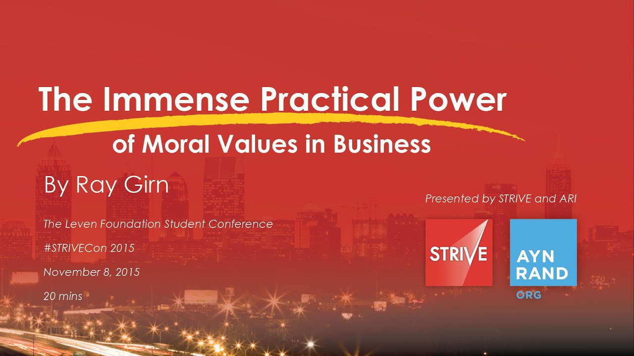 the power of moral values in business ray girn the power of moral values in business ray girn