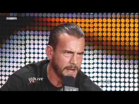WWE - CM Punk Talk on Monday Raw Roulette 27 June 2011 [720p HD]
