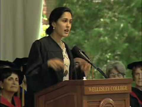 Wellesley College's Mira Sethi, Commencement 2010.wmv