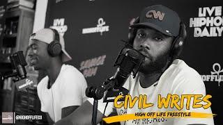 CIVIL WRITES: Real Rap From ATLANTA ! | #HighOffLife Freestyle 024