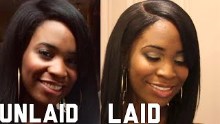 How to lay your wig with UNRELAXED EDGES using RPG SHOW A-BOB Thumbnail
