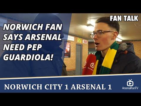 Norwich Fan says Arsenal Need Pep Guardiola! | Norwich City 1 Arsenal 1