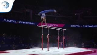 Artur DALALOYAN (RUS) - 2018 Artistic Gymnastics European Champion, parallel bars