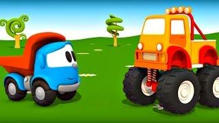 Leo Junior - Monster truck  - Eğitici çizgi film - Türkçe dublaj
