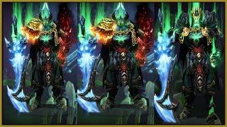 DOTA 2 Wraith King Full Mix Sets Stonemarch Sovereign + Dark Reservoir + Immortals