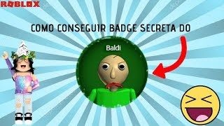 ROBLOX-HOW to GET the SECRET BALDI BADGE IN GRANNY GAME