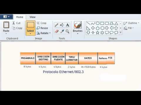 Las Tramas De Ethernet - YouTube