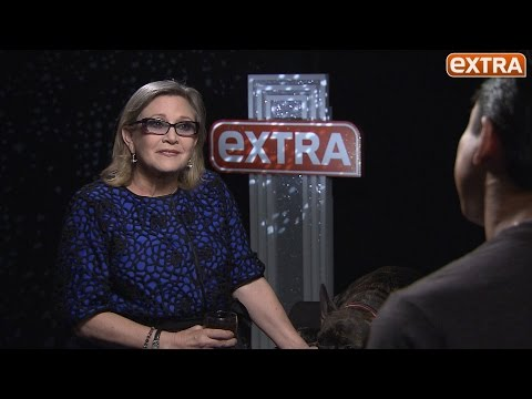 Carrie Fisher on Playing Leia Again in 'Star Wars: The Force Awakens' - Full Interview