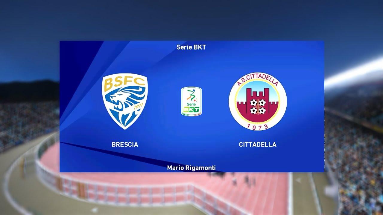 Brescia vs Cittadella - Serie B [06/02/2021] - PES 2021 - YouTube