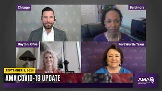 COVID-19 Update for September 8, 2020