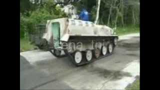 Pindad Tank Prototype Trials