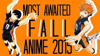 Top 15 Most Awaited Fall Anime 2015