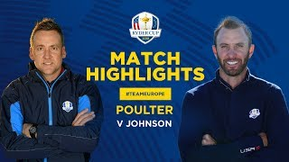 Poulter vs Johnson | Ryder Cup Sunday Singles Highlights