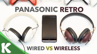 Panasonic Retro Headphones | HTX7 vs HTX80B | Original vs Upgraded | Review
