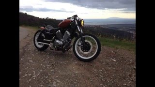 Repeat youtube video PROJECT Bobber yamaha virago 535 STYLE CAFE RACER MOTO2B