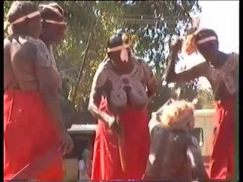 Warlpiri women's dance at Barunga Festival, Australia
