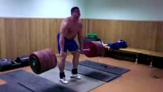 Koklyaev Mikhail dead lift 390*3