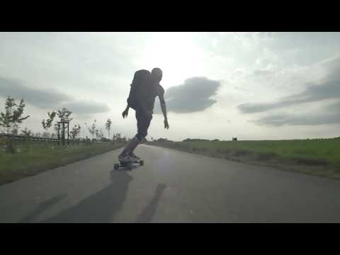 HAMMER Road Trip /// Hamburg to Munich - 800km on an electric skateboard