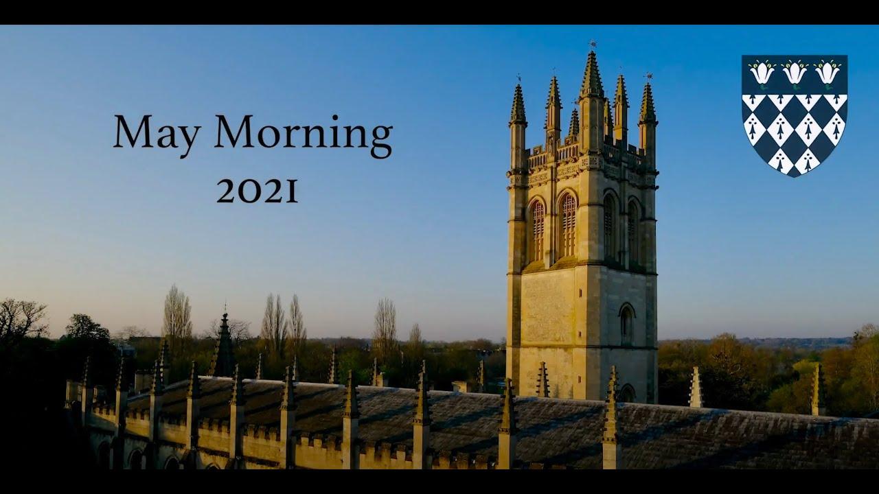 May Morning at Magdalen College