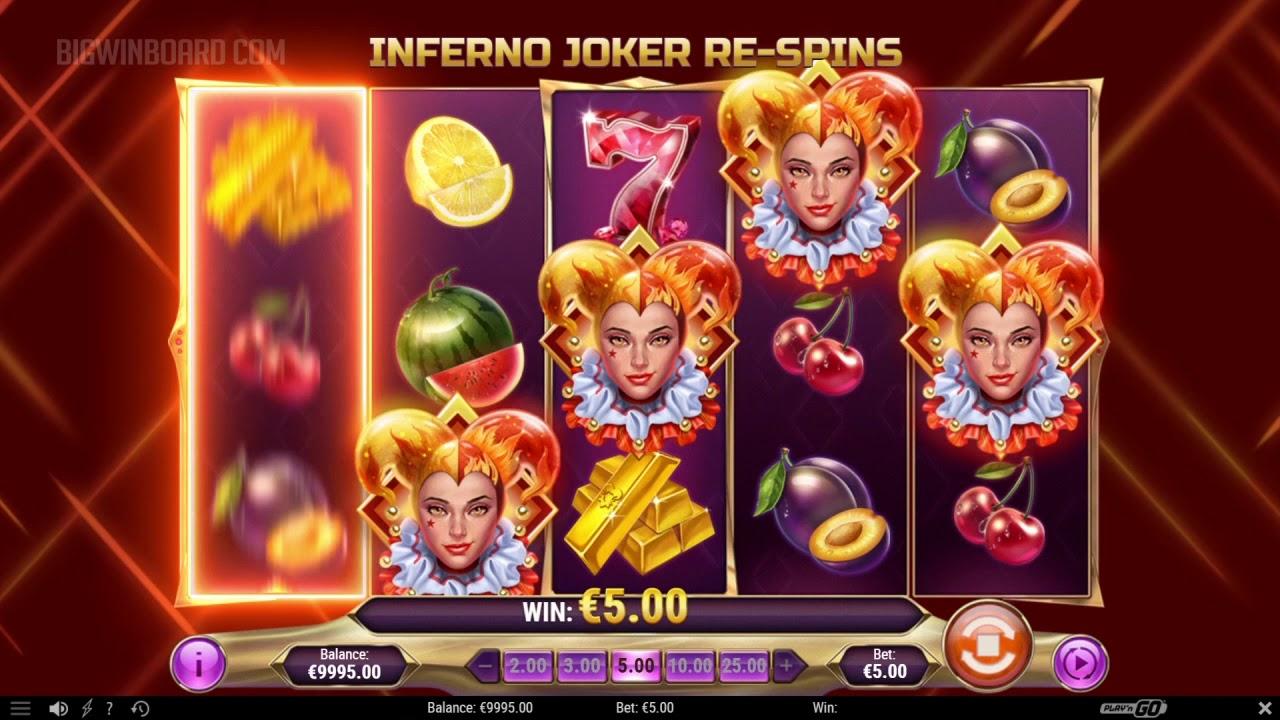Image result for inferno joker slot