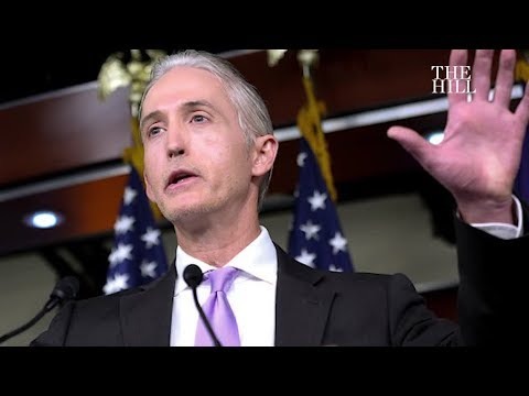 Trey Gowdy, new Oversight Committee chair, plans to deemphasize Russia investigation