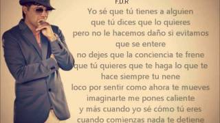 Don Omar - Olvidar Que Somos Amigos (Audio-Letra) ft. Plan B