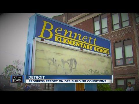 Progress report on conditions at Detroit Public Schools