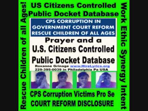 US Citizens Docket with Internet Give CPS Corruption Victims Pro Se  Mediation Court Reform Tool
