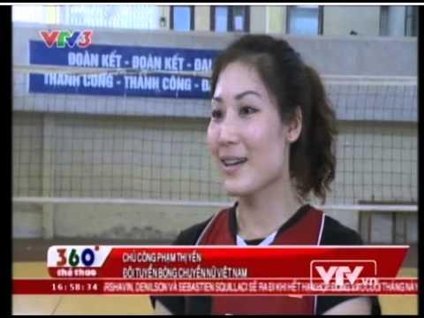 ĐT bóng chuyền nữ Việt Nam háo hức chờ ngày hội VTV Cup 2013