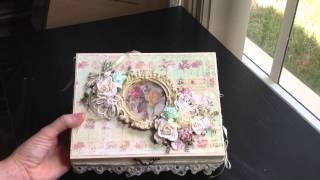 Altered Cigar Box For Wild Orchid Crafts Dt Project
