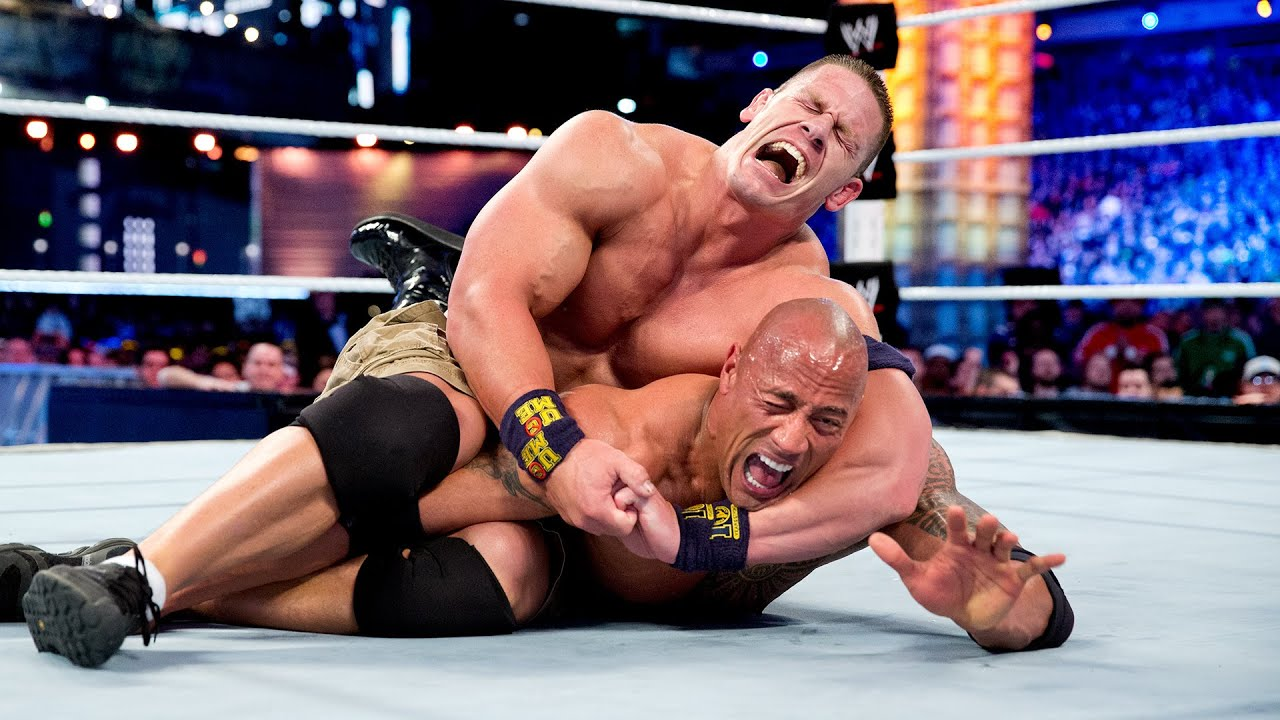 Download The Rock and John Cena's unforgettable history: WWE Playlist
