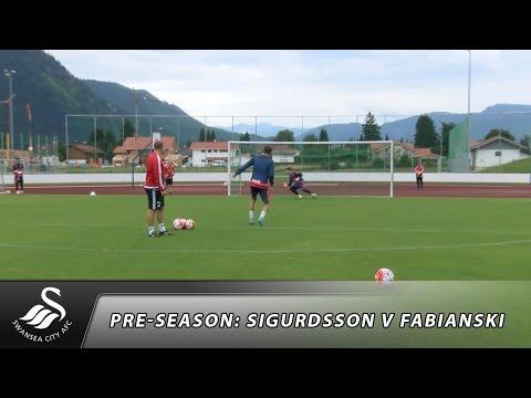 Swans TV - Fabianski v Sigurdsson: First to 13