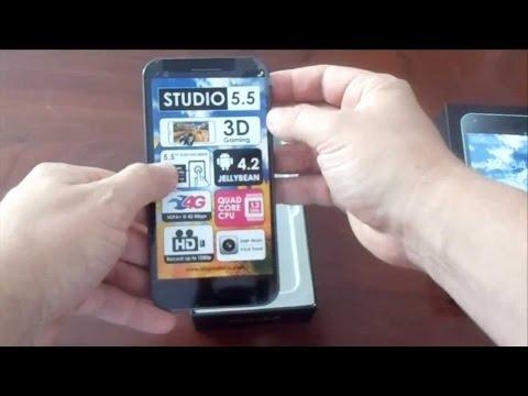 Blu Studio 5.5 Unboxing & First Look