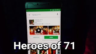 Heroes of 71. Short review.