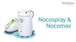 Nocospray ja Nocomax – laitteet kuivahöyrydesinfektioon
