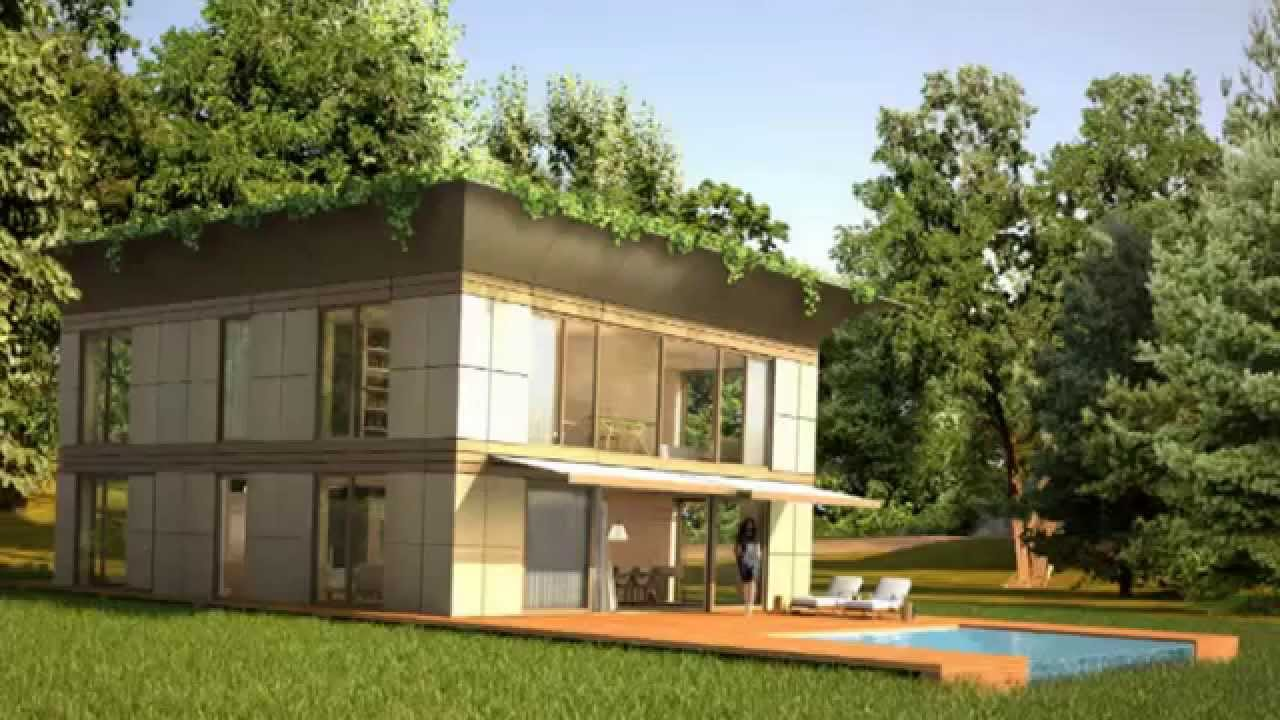 Modulhaus Stark Philippe Starck Riko Unveil Prefab P A T H Eco Homes In Europe