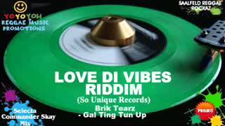 Love Di Vibes Riddim Mix [April 2012] So Unique Records
