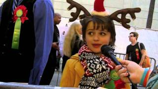 Joey King: 80th Annual Hollywood Christmas Parade Interview