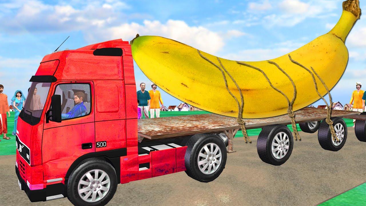 बड़ा  केले का चोर Giant Banana Thief Funny Comedy Videos हिंदी कहानिया Hindi Kahaniya Hindi Stories