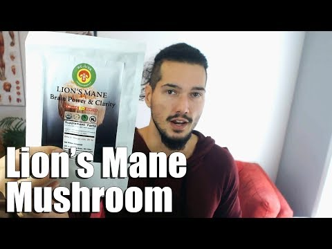 Benefits of Lion's Mane Mushroom Natural Nootropic Supplement