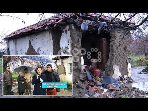 BOOM ndërmjetëson evakuimin e familjes në Vorë, reshjet i shembën banesën (7 dhjetor 2017)