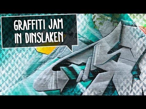 URBAN ARTS FESTIVAL | Smoe painting Graffiti in Dinslaken