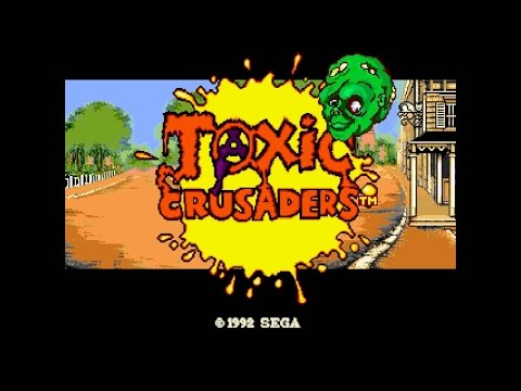 Sega Genesis HD Longplay [008] - Toxic Crusaders (Hard)