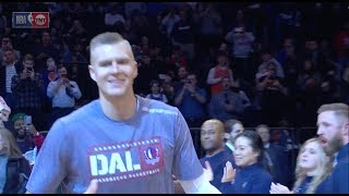 New York Knicks Fans Boo Kristaps Porzingis During Intros At Madison Square Garden