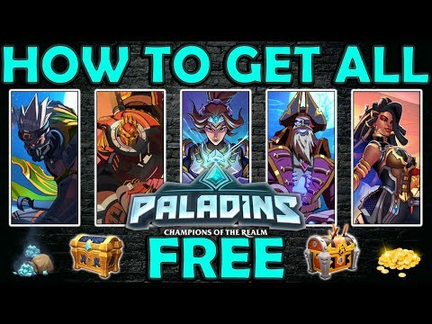 HOW TO CLAIM your free daily rewards and more in Paladins! 2019