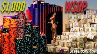 WSOP $1,000 Tournament $5,130,000 Prizepool!