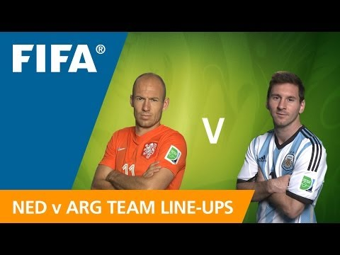 Netherlands v. Argentina - Team Line-ups EXCLUSIVE from YouTube · Duration:  1 minutes 18 seconds